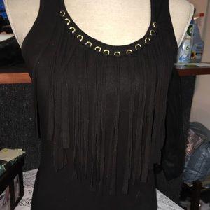Michael Kors Black sleeveless blouse